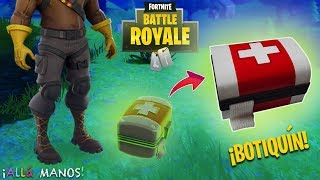 FORTNITE BOTY! (MEDKIT) - TUTORIAL
