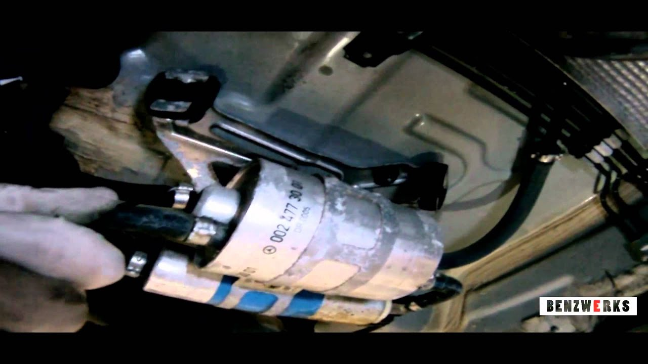 benzwerks fuel filter removal - youtube  youtube
