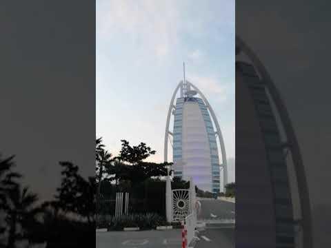 Guy's mai aapko dubai ke famous burj al arab se video aapke liye