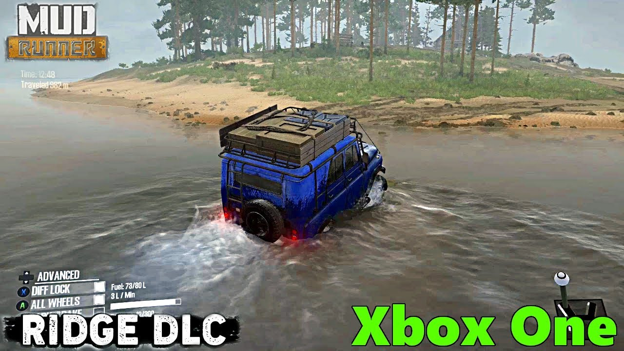 spintires mudrunner the ridge dlc xbox one gameplay and. Black Bedroom Furniture Sets. Home Design Ideas