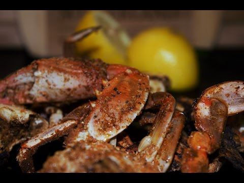 BBQ Spicy Blue Crab By Families Kitchen