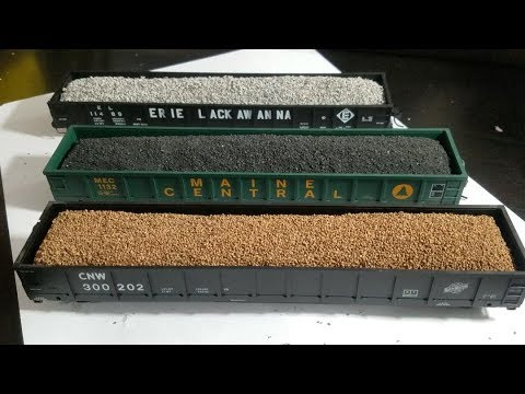 How to Create Realistic freight car loads