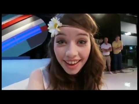 Anna Popplewell on Totally Tom
