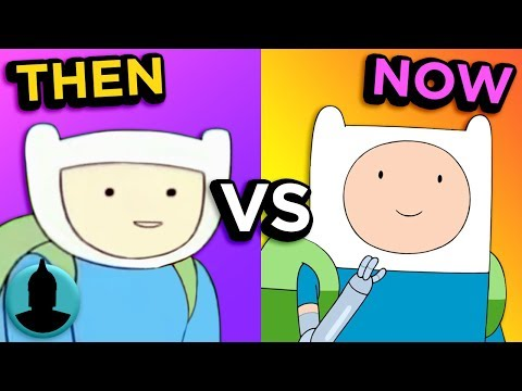 Then Vs. Now - Adventure Time - The Evolution of Adventure Time (Tooned Up S4 E30)