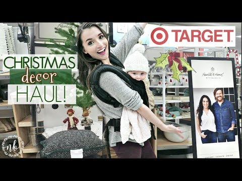 TARGET CHRISTMAS DECOR HAUL! 🎄Is the HEARTH AND HAND Collection worth the money?  | Natalie Bennett