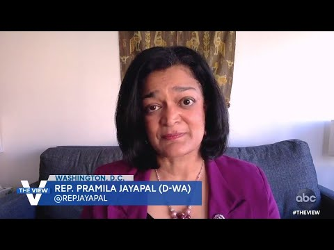 Rep. Pramila Jayapal Predicted Capital Hill Lockdown Would Be Superspreader Event  | The View