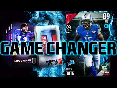 Madden NFL 16 Ultimate Team - 24 Hour Golden Tate Football Outsiders Pull
