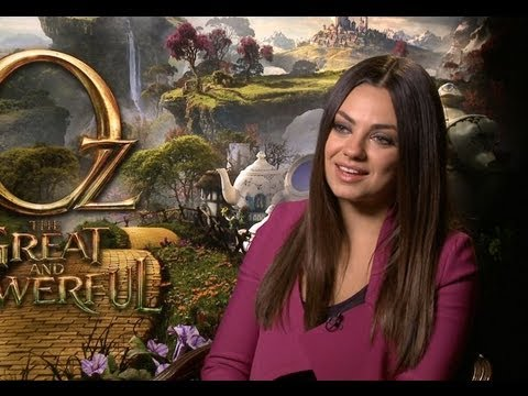 Oz: The Great And Powerful - Mila Kunis Interview