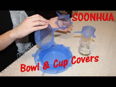 🍀silicone-bowl-covers-6-pcs-soonhua-cup-pot-lids-review-👈