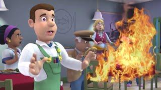 Feuerwehrmann Sam Deutsch 🌟Neue Folgen 🌟Restauranttisch in Brand!!🌟Rettungen mit Sam 🚒Kinderfilm