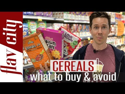 HUGE Cereal Haul - What Cereals To Buy & Avoid At The Grocery Store!