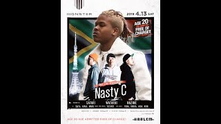 Nasty C is well known in japan