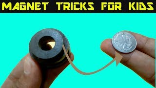 SURPRIZING MAGNET MAGIC TRICKS REVEALED || amazing magic tricks to impress your friend