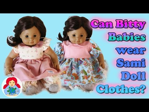 Can Bitty Babies Wear Sami Doll Clothes? Does The New Pattern Fit?