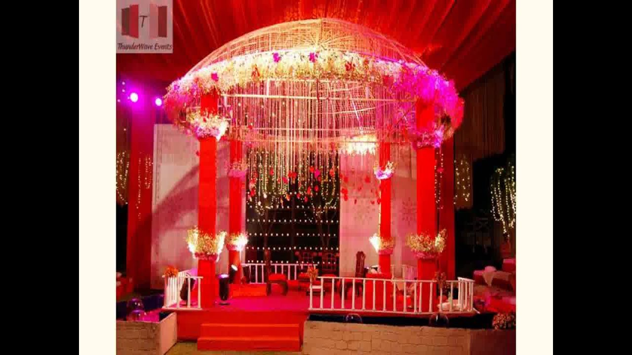 New wedding decoration kits youtube for Decoration decoration