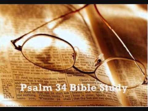 Psalm 34 Bible Study