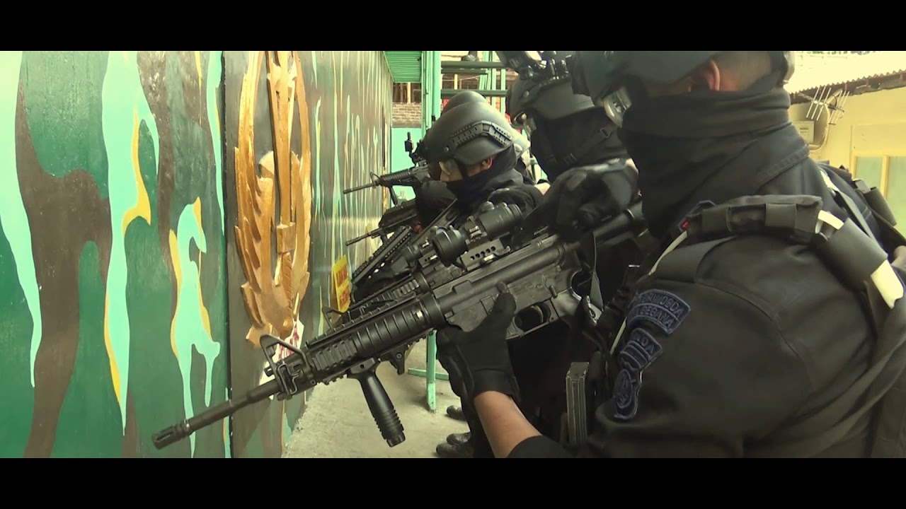 Gegana - Special Police Forces CQB Training