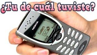 Antiguos celulares  ¿Tu cuál tuviste?  #celular