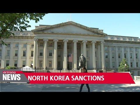 U.S. announces new sanctions over North Korean weapons programs