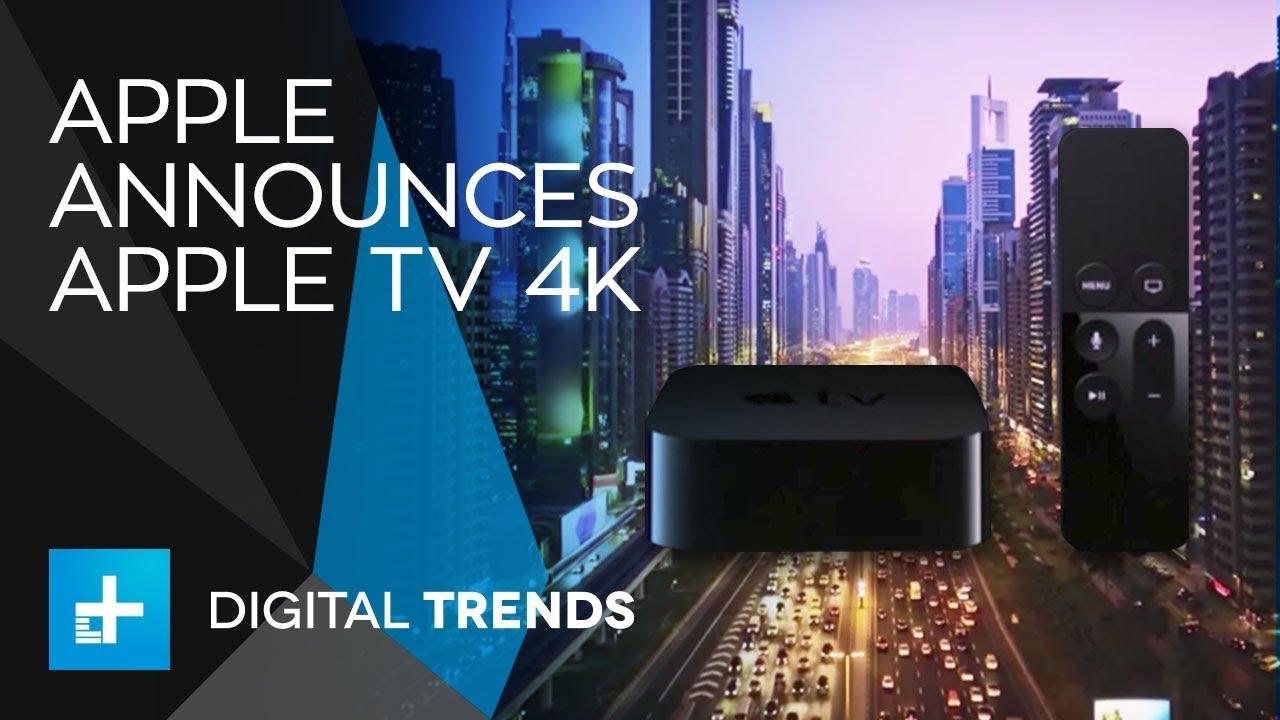 Apple TV 4K – Full Announcement From Apple's 2017 Keynote