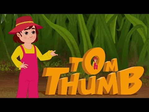 Tom Thumb Full Story | Animated Fairy Tales for Kids | Bedtime Stories