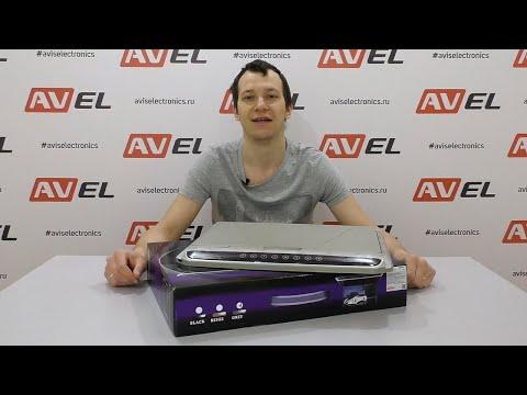 """Распаковка и обзор потолочного Full HD монитора 17,3"""" для автомобиля AVS1707MPP от компании AVEL"""