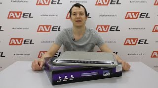 Распаковка и потолочного Full HD монитора 17,3 для автомобиля AVS1707MPP от компании AVEL
