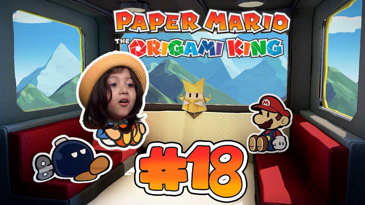 Parte 18 BOMBI se une a la AVENTURA / PAPER MARIO The Origami King / Diki Duki Dariel