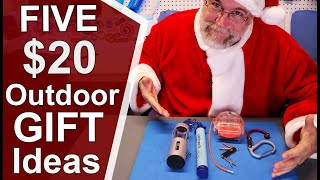 Best Outdoor GIFTS Ideas for Under $20