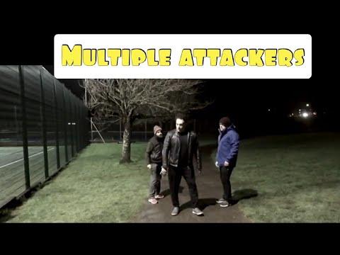 Urban Combat JKD Street Survival -  Multiple Attackers   Self Defense   Martial Arts