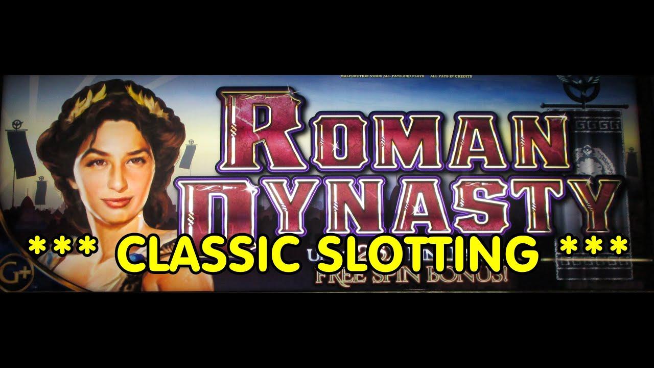 Roman dynasty slot machine