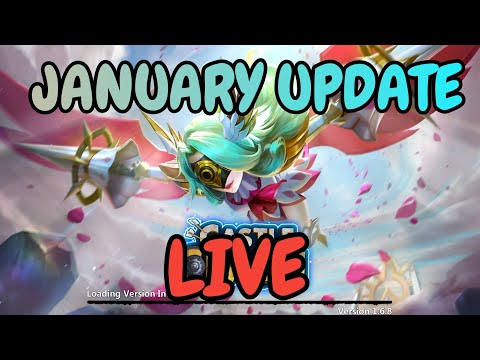 Update Is Here I Live I Castle Clash