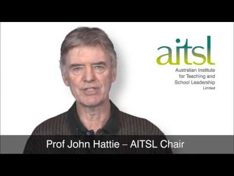 Subscribe to AITSL's eNews - John Hattie