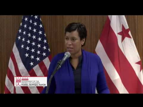 Mayor Bowser Launches Apprenticeship DC, 9/6/17