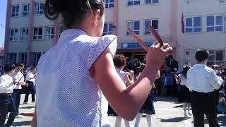 Ankara Sincan Burak Reis İlkokulu 3/D Sınıfı Konyalı-Hey Onbeşli ve Tridine Bandım Gösterisi
