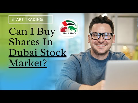 Is there a stock market in Dubai?