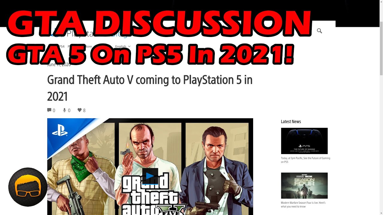 Gta 5 Coming To Ps5 In 2021 Gta Online Monthly 1 Million Free