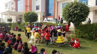 Christmas Festival Celebration In SRBS INTERNATIONAL SCHOOL