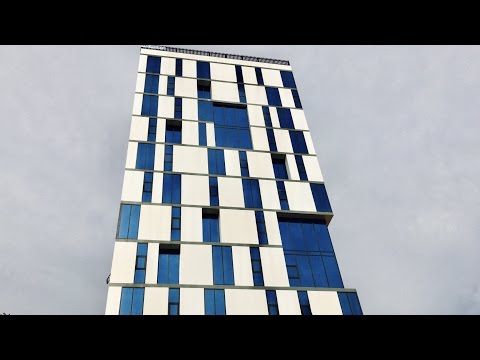 [4K]New Development City Tower Office Space Phnom Penh, Cambodia
