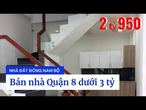 Bán nhà hẻm 65 Cao Xuân Dục phường 12 Quận 8 dưới 3 tỷ. DT 3,5x12m (nở hậu 6m)