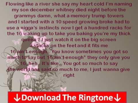 Rick Ross - Sixteen (Ft. Andre 3000) Lyrics