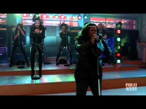 Glee Cast - Start Me Up/Livin' on A Prayer (full scene from S02E06)