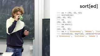 Лекция 5. Коллекции и collections (Программирование на Python)