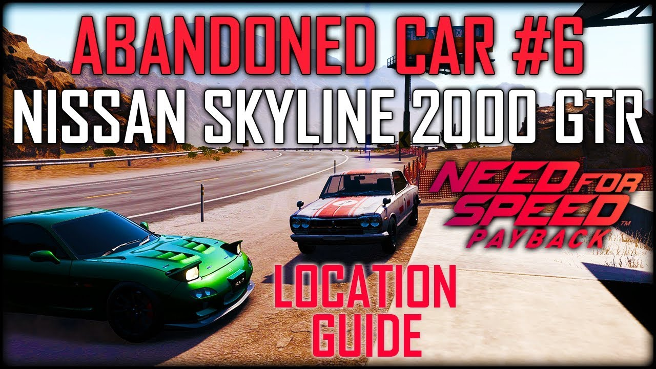 e16c4174277 How to get the abandoned cars update in nfs payback