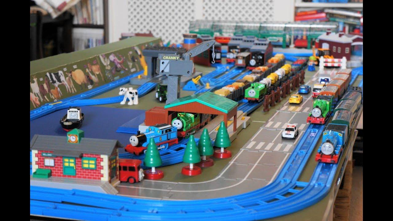 【legetøj lokomotiv】Tomy Train kører 00109 dk - YouTube