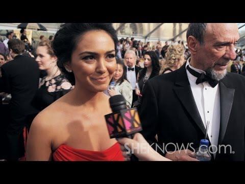 Homeland Newbie Nazanin Boniadi at the 2014 SAG Awards  SheKnows Goes to the s