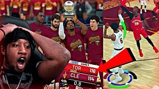 I CAN'T BELIEVE I HIT THE BIGGEST WIN OR GO HOME SHOT IN NBA HISTORY! - NBA 2K19 MyCAREER CFG5