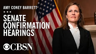 Amy Coney Barrett's Supreme Court confirmation hearing, day 2