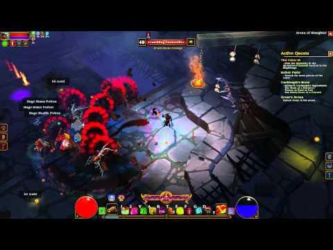 Torchlight 2 Outlander VH build (Elite) EP24 Arena of Slaughter |