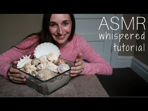 Whispered Tutorial - How To Make a Decorative Bowl With Shells